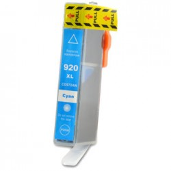Ink Cartridge Compatible HP 920XL Blue (CD972AE)
