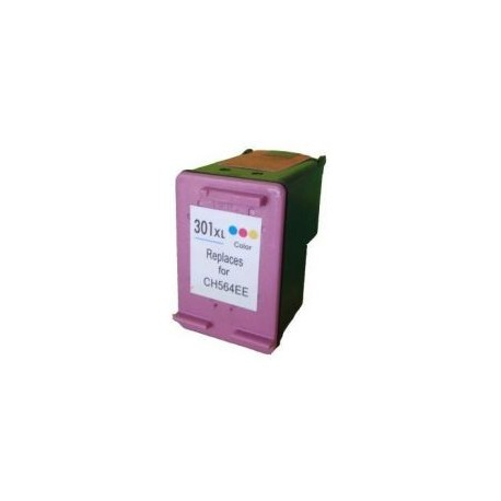 Ink Cartridge Compatible HP 301XL Color (CH564EE)