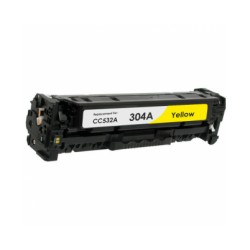 Toner Cartridge Compatible HP 304A Yellow (CC532A)