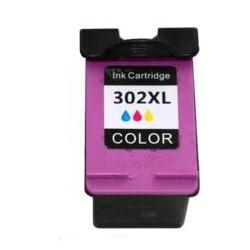 Tintenpatrone Kompatibel HP 302XL Farbig (F6U67AE)