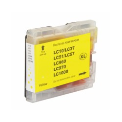 Ink Cartridge Compatible Brother LC1000/LC970 XXL Yellow