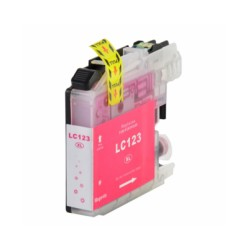 Ink Cartridge Compatible Brother LC123 XL Magenta