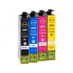 MULTIPACK 4-COLOURS 29XL COMPATIBLE