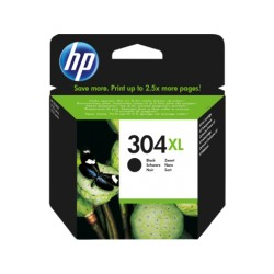 Cartucho de Tinta HP 304XL Negro (N9K08AE)