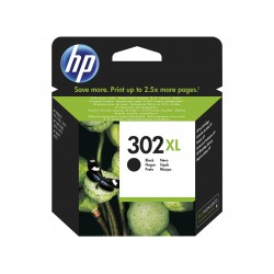 InktCartridge HP 302XL Zwarte (F6U68AE)