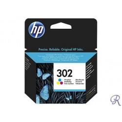 Ink Cartridge HP 302 Colour (F6U65AE)