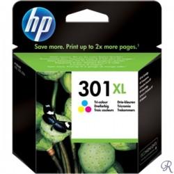 Tinteiro HP 301XL Colorido (CH564EE)