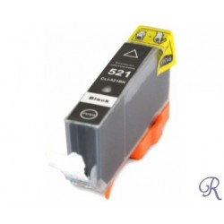 Ink Cartridge Compatible Black Canon CLI521
