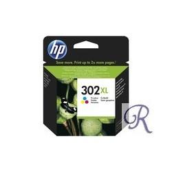 Ink Cartridge HP 302XL Colour (F6U67AE)