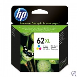 Ink Cartridge HP 62XL Color (C2P07AE)