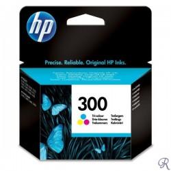 HP 300 cartouche d'encre trois couleurs authentique (CC643EE)