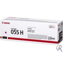 Cartouche de toner Canon 055H Magenta (3018C002)