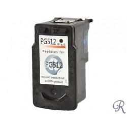Cartouche Compatible Canon PG 512 Noire