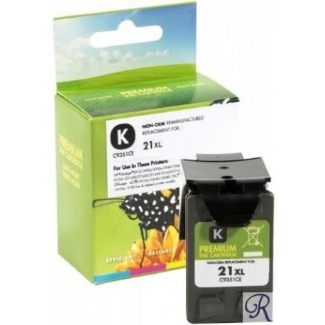 Ink Cartridge Compatible HP 21XL Black (C9351C)