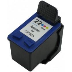 Ink Cartridge Compatible HP 22XL Color (C9352C)