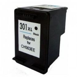 Ink Cartridge Compatible Black HP 301XL (CH563EE)