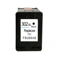 Ink Cartridge Compatible Black HP 302XL (F6U68AE)