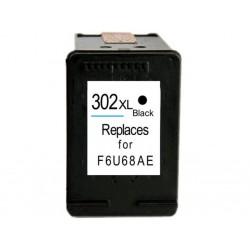 Tinteiro Compatível HP 302XL Preto (F6U68AE)