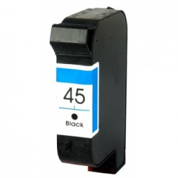 InktCartridge Compatibele Zwarte HP 15XL (C6615A)