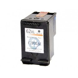 Ink Cartridge Compatible Black HP 62XL (C2P05AE)