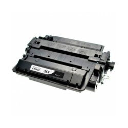 Toner Cartridge Compatible Black HP 55X (CE255X)